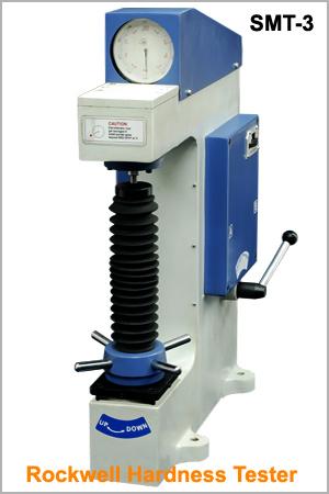 rockwell test machine